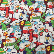 Load image into Gallery viewer, Multi Snowman - Christmas Print