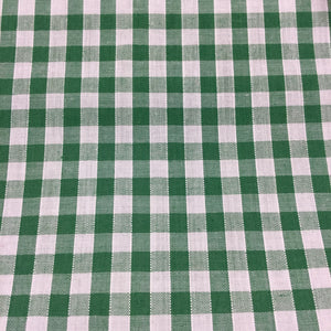 "Emerald 1/4"" Checks Gingham"