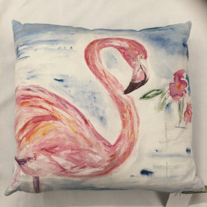 Large Flamingo Cushion