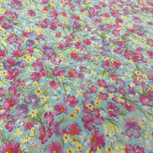 Load image into Gallery viewer, Sky Floral Cotton Poplin