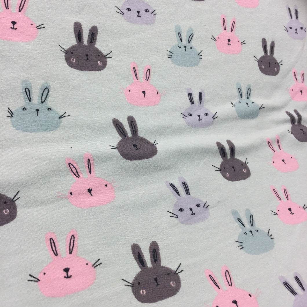 Bunny Cotton Jersey Print