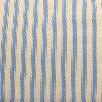 Blue Canvas Ticking Stripes