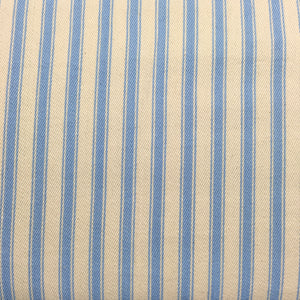 Blue 6 Canvas Ticking Stripes