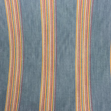 Load image into Gallery viewer, Denim/Rouge Boho Stripe