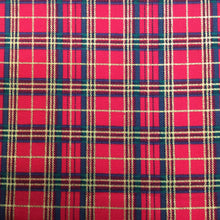 Load image into Gallery viewer, Red Tartan - Christmas Print