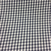 "Load image into Gallery viewer, Navy 1/8"" Checks Gingham"