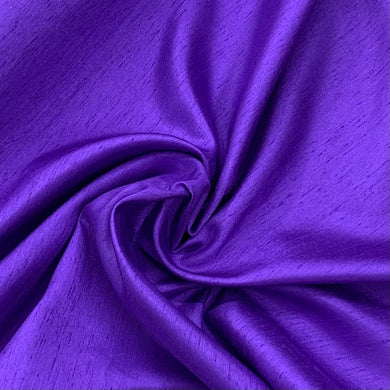 Purple Satin Back Dupion