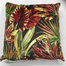 Load image into Gallery viewer, Red Tropics Cushion