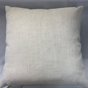 Flourish Eucalyptus Blue Cushion