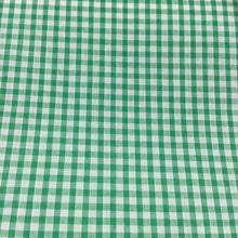 "Load image into Gallery viewer, Emerald 1/8"" Checks Gingham"