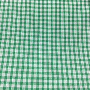 "Emerald 1/8"" Checks Gingham"