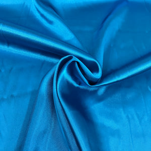 Turquoise Stretch Satin