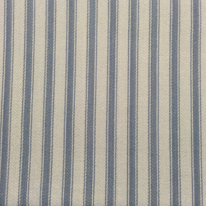 Blue on Blue Canvas Ticking Stripes