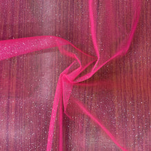 Load image into Gallery viewer, Flo Pink Glitter Tulle