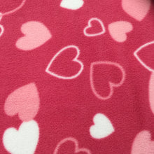 Load image into Gallery viewer, Cerise Hearts Polar Fleece