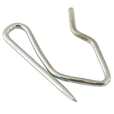 Zinc Curtain Pin Hooks