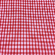"Load image into Gallery viewer, Red 1/8"" Checks Gingham"