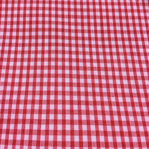 "Red 1/8"" Checks Gingham"