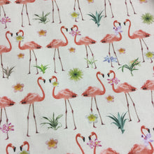 Load image into Gallery viewer, Flamingos Cotton Poplin