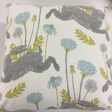 Load image into Gallery viewer, Duckegg March Hare Cushion