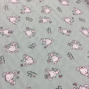 Baby Mouse Cotton Poplin