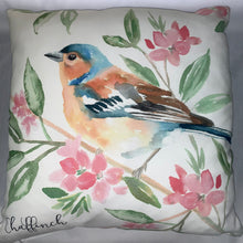 Load image into Gallery viewer, British Bird Chaffinch Cushion
