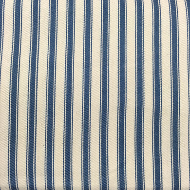 Denim Canvas Ticking Stripes