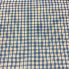 "Load image into Gallery viewer, Sky 1/8"" Checks Gingham"