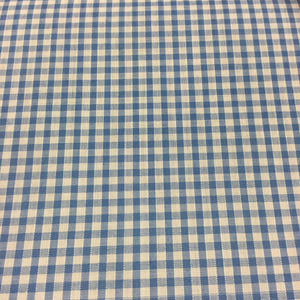 "Sky 1/8"" Checks Gingham"