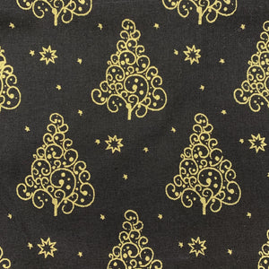 Black Christmas Trees - Christmas Print