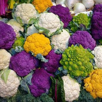 Cauliflower - Coloured Mix