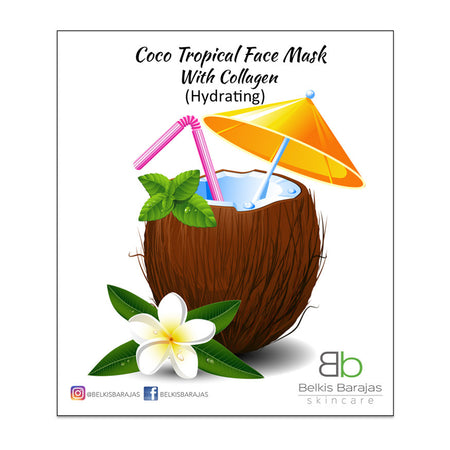 Coco Tropical Face Mask Collagen - Hydrating