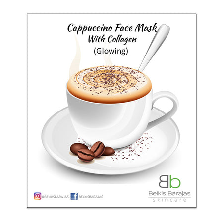 Cappuccino Face Mask Collagen - Glowing