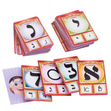 "Great Educational Alef-Bais, Rashi & Script Card Game (101 Cards - 2.25"" x 3.5"")"