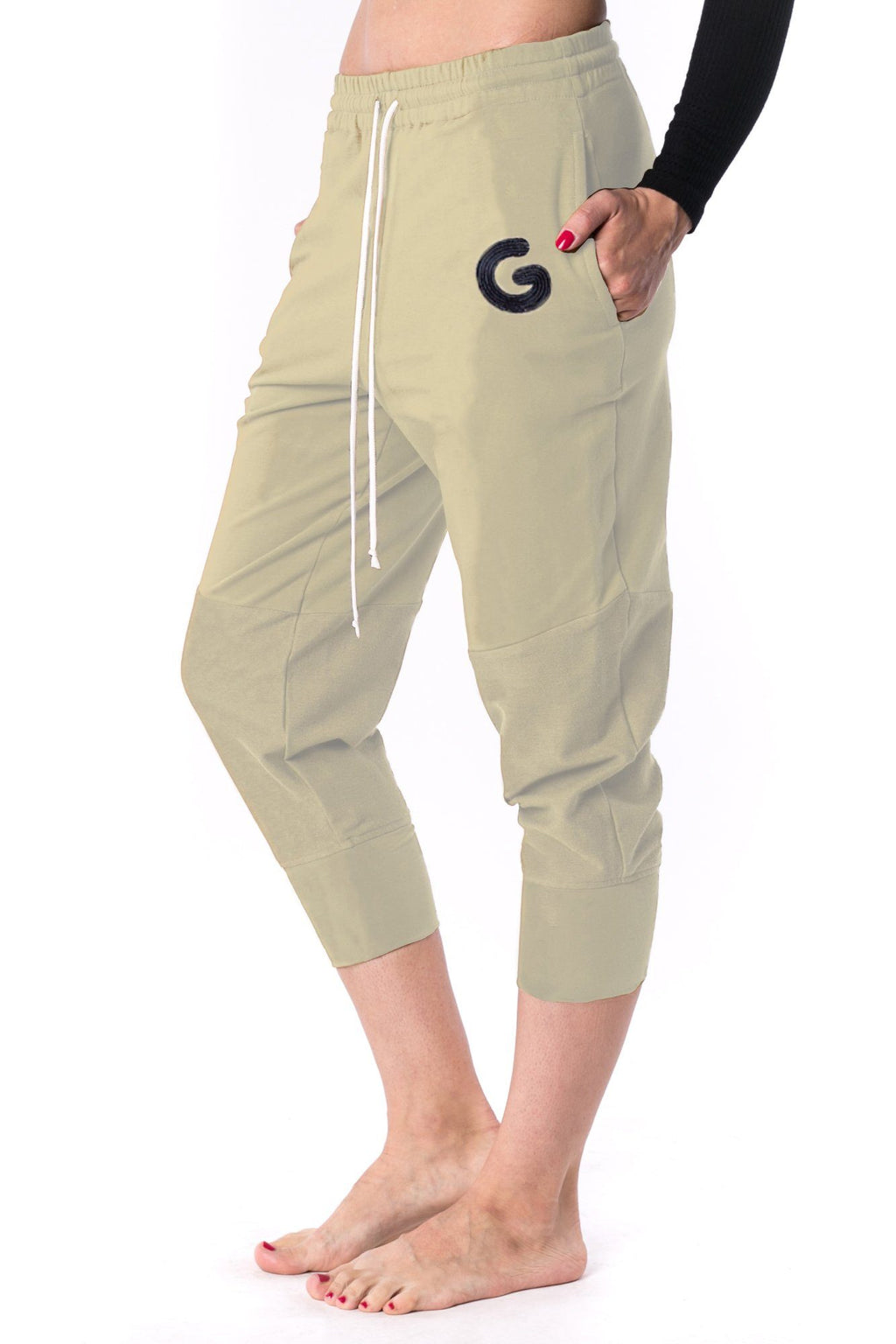 The Woman Panelled Jogger 17 // creme