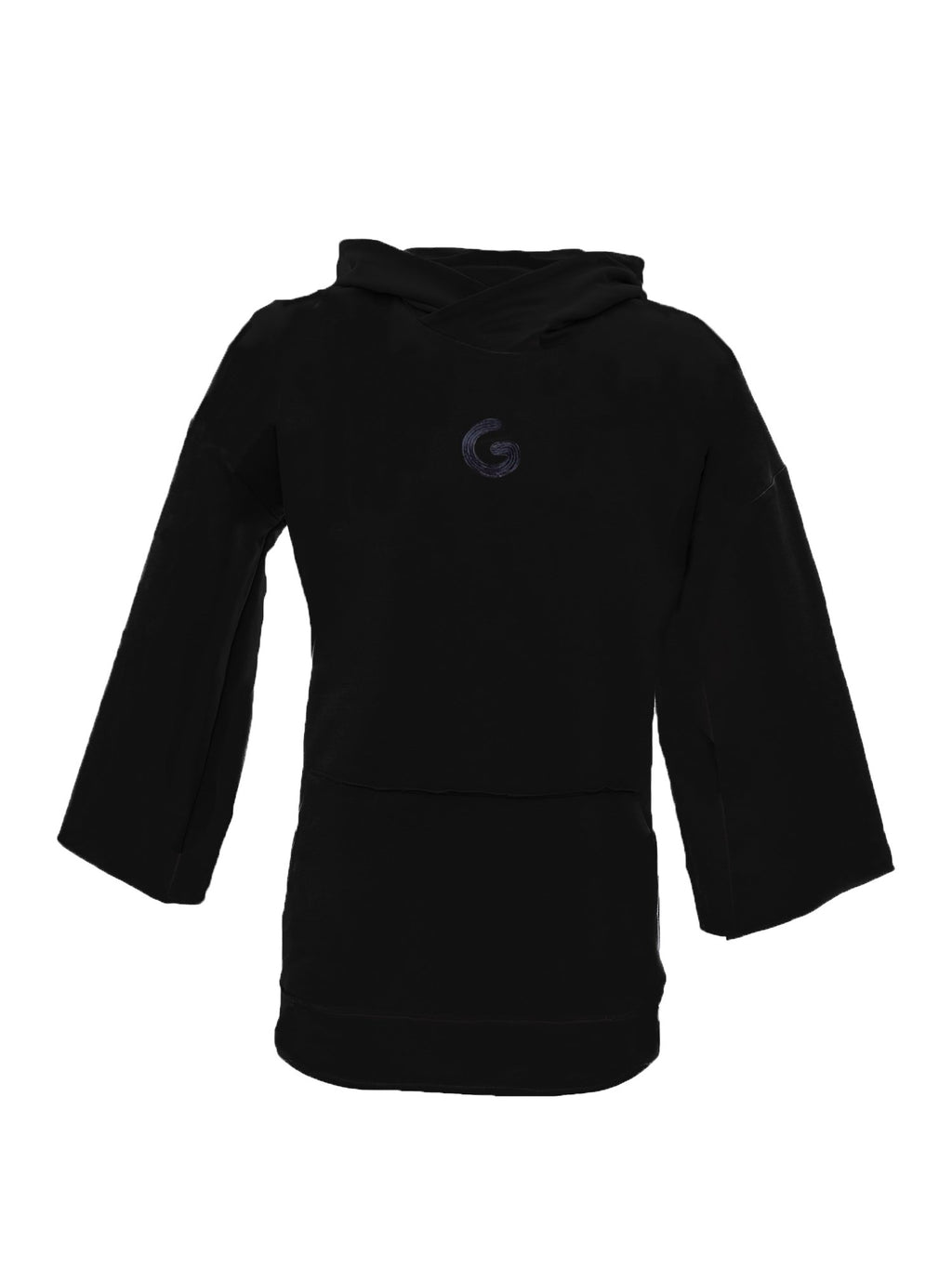TheG Essential 3/4 Hoody // black