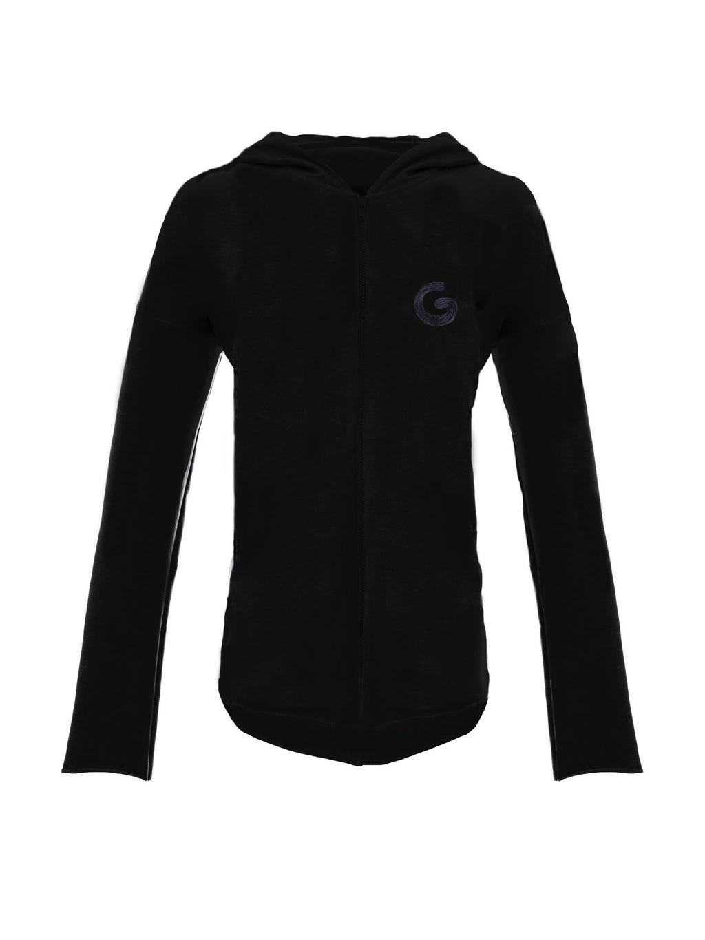 TheG Essential Riri Zip Hoody // black