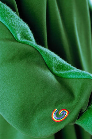 TheG Fresh Oversize Hoody Woman // green