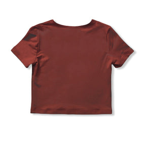 TheG Women Top // terakota
