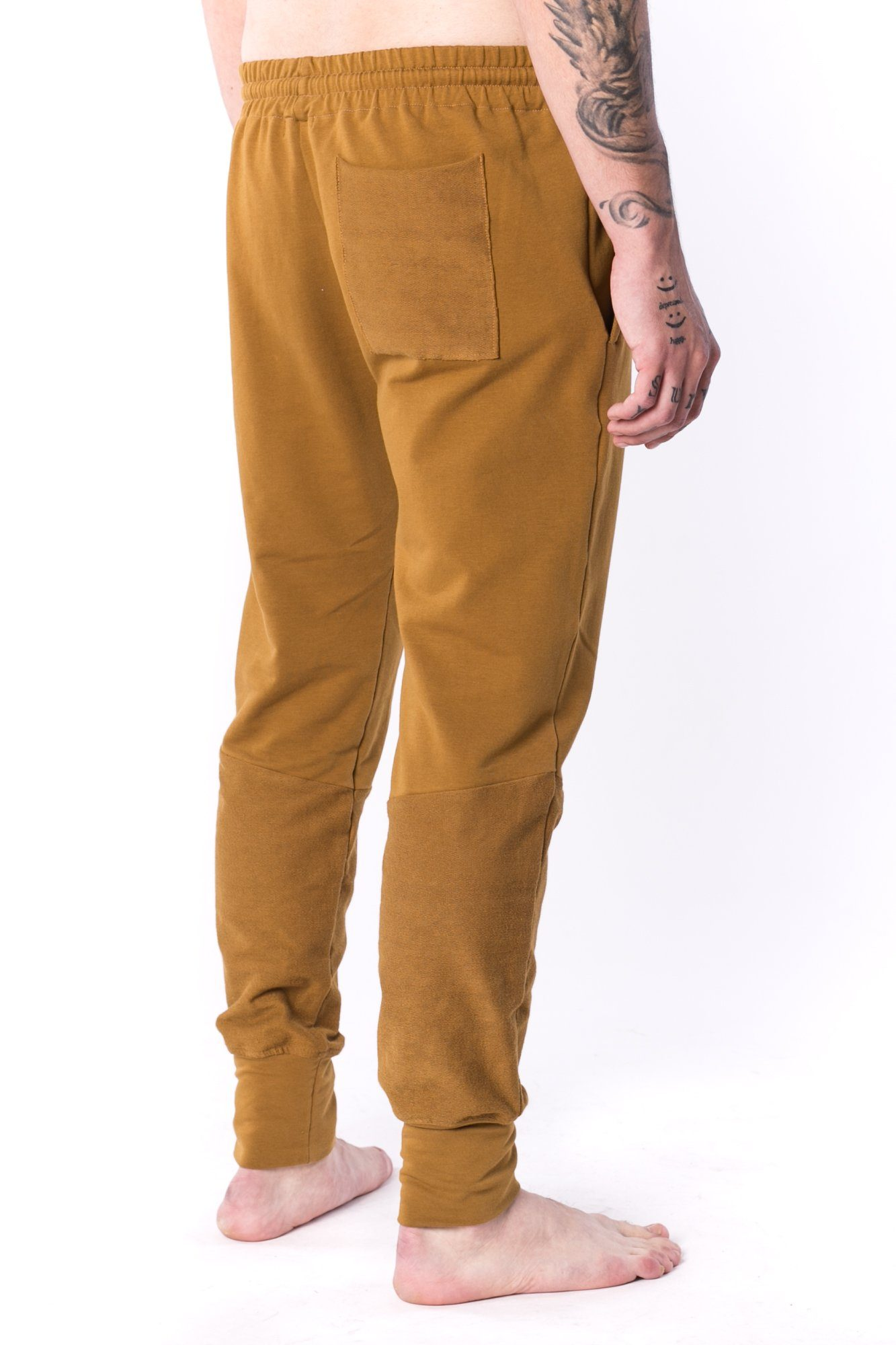 The Man Panelled Jogger 17 // umber