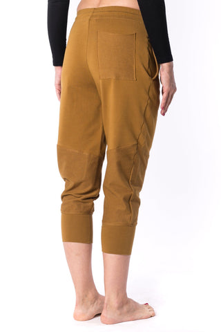 The Woman Panelled Jogger 17 // umber