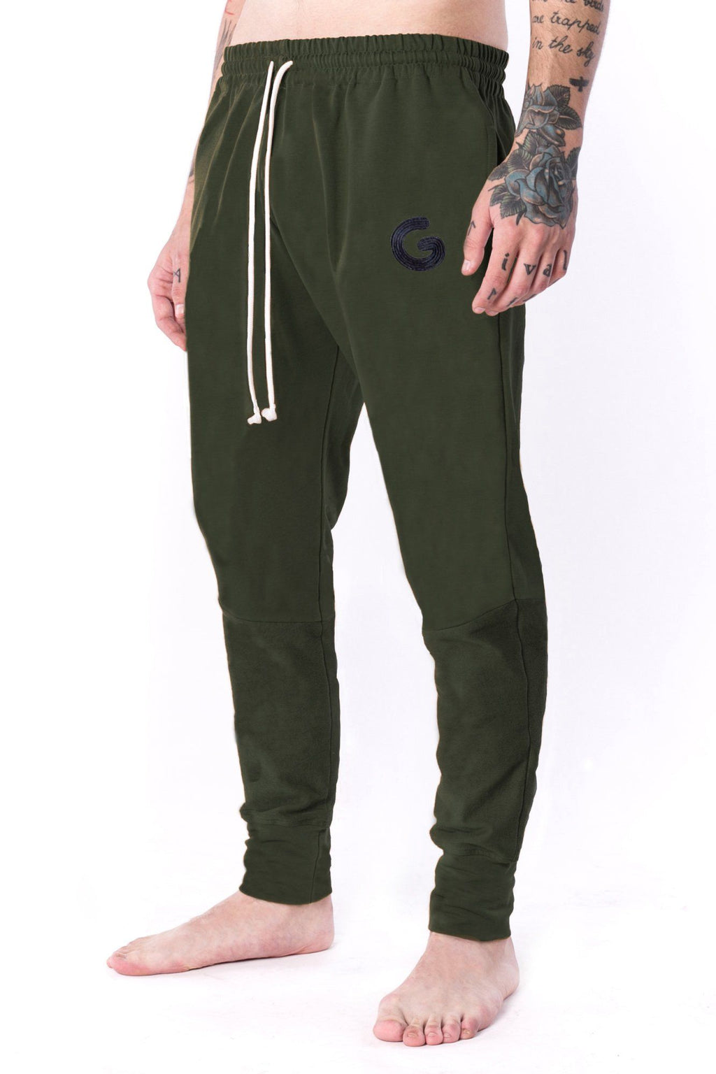 The Man Panelled Jogger 17 // khaki