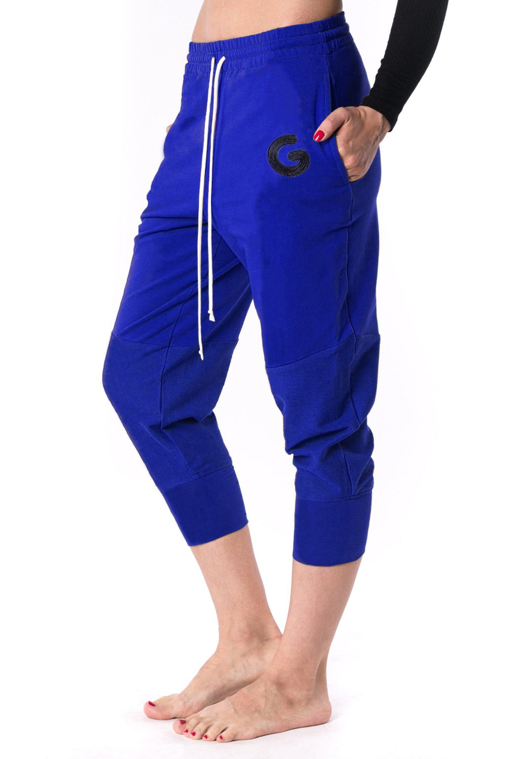 The Woman Panelled Jogger 17 // royal blue