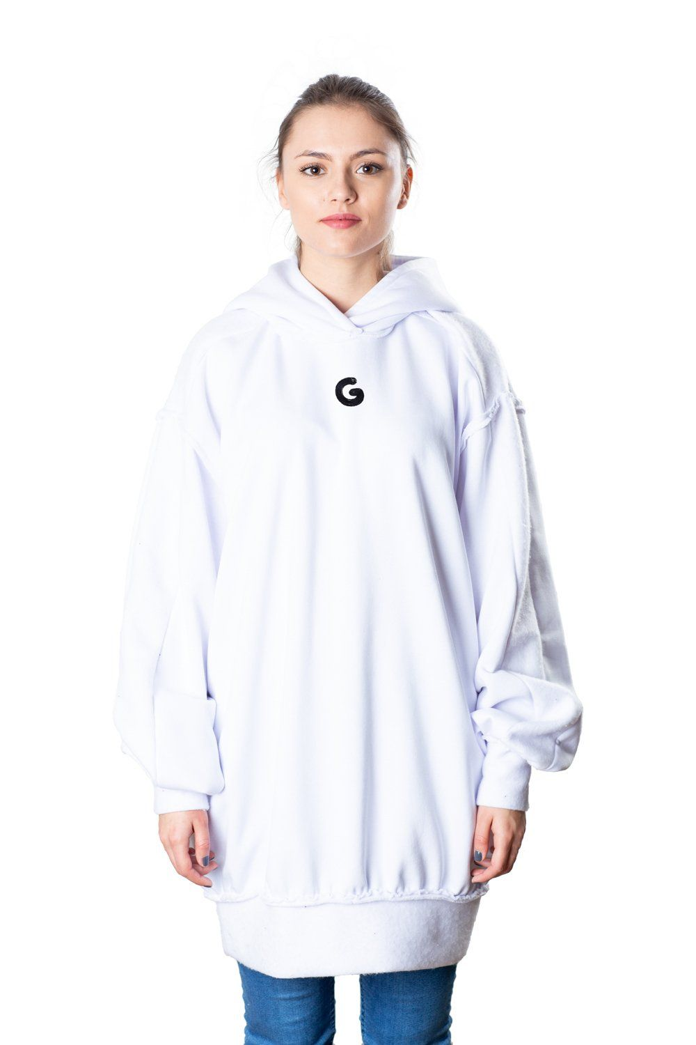 TheG Fresh Oversize Hoody Woman // white