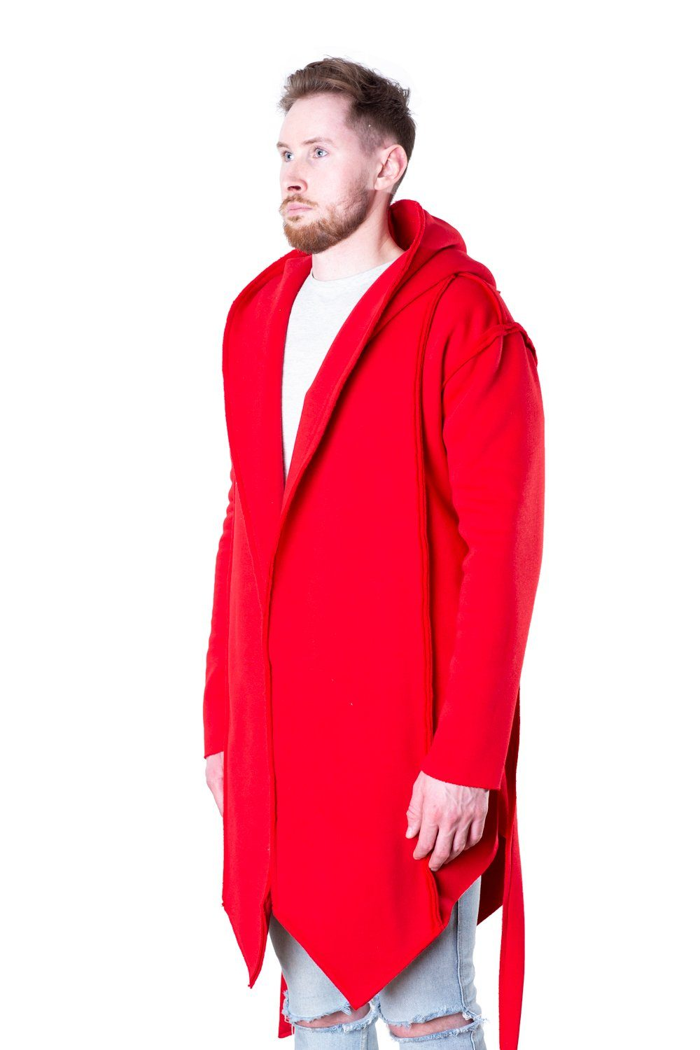 TheG Man Designer Cardigan 2.0 // red