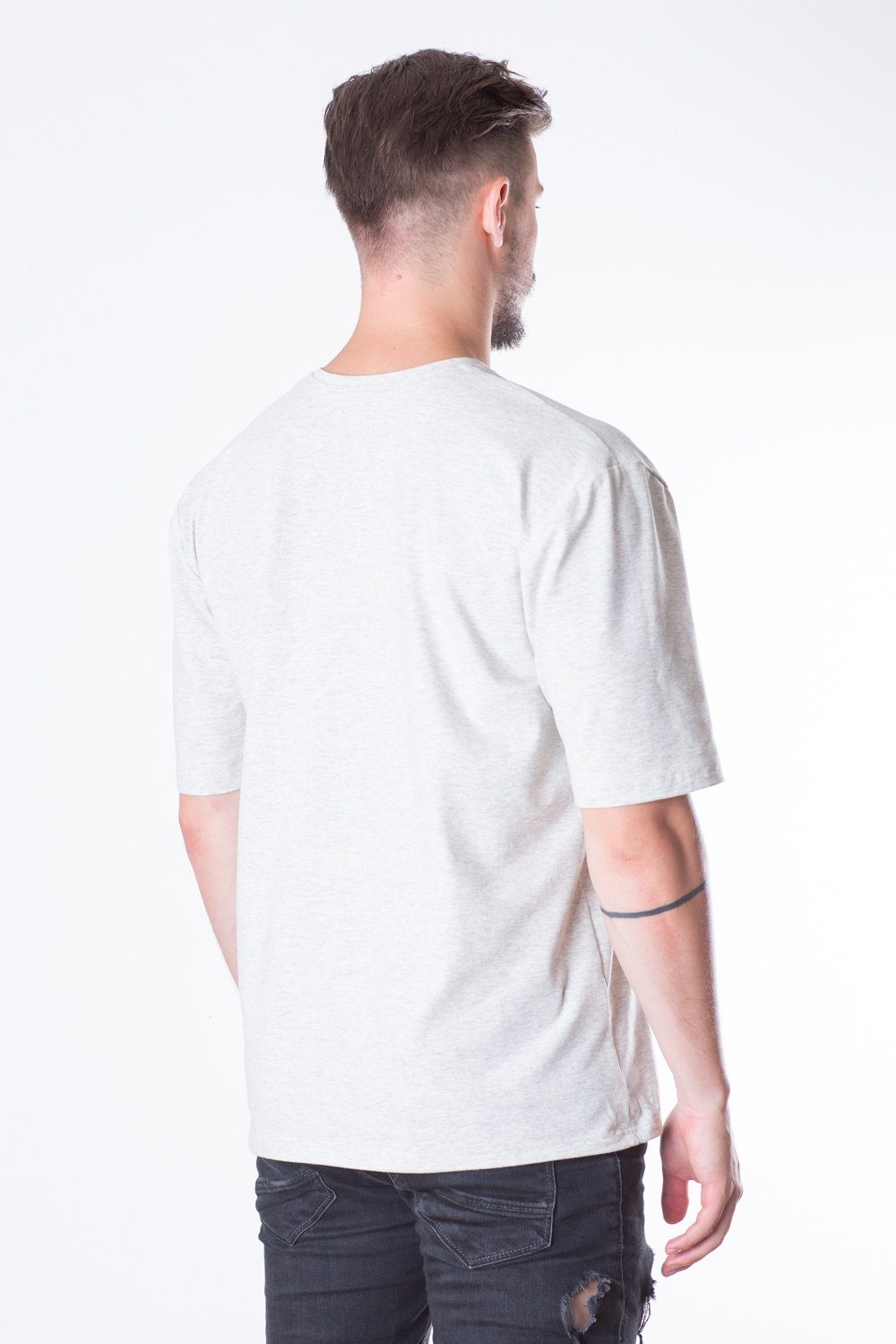 French Terry Man Oversize Tee // off-white