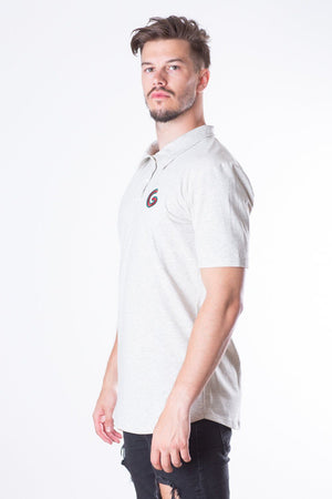 French Terry Man Polo // off-white