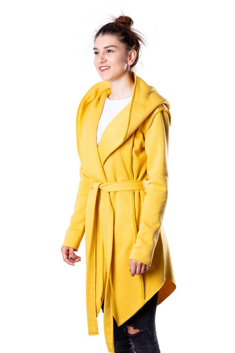 TheG Woman Designer Cardigan 2.0 // yellow