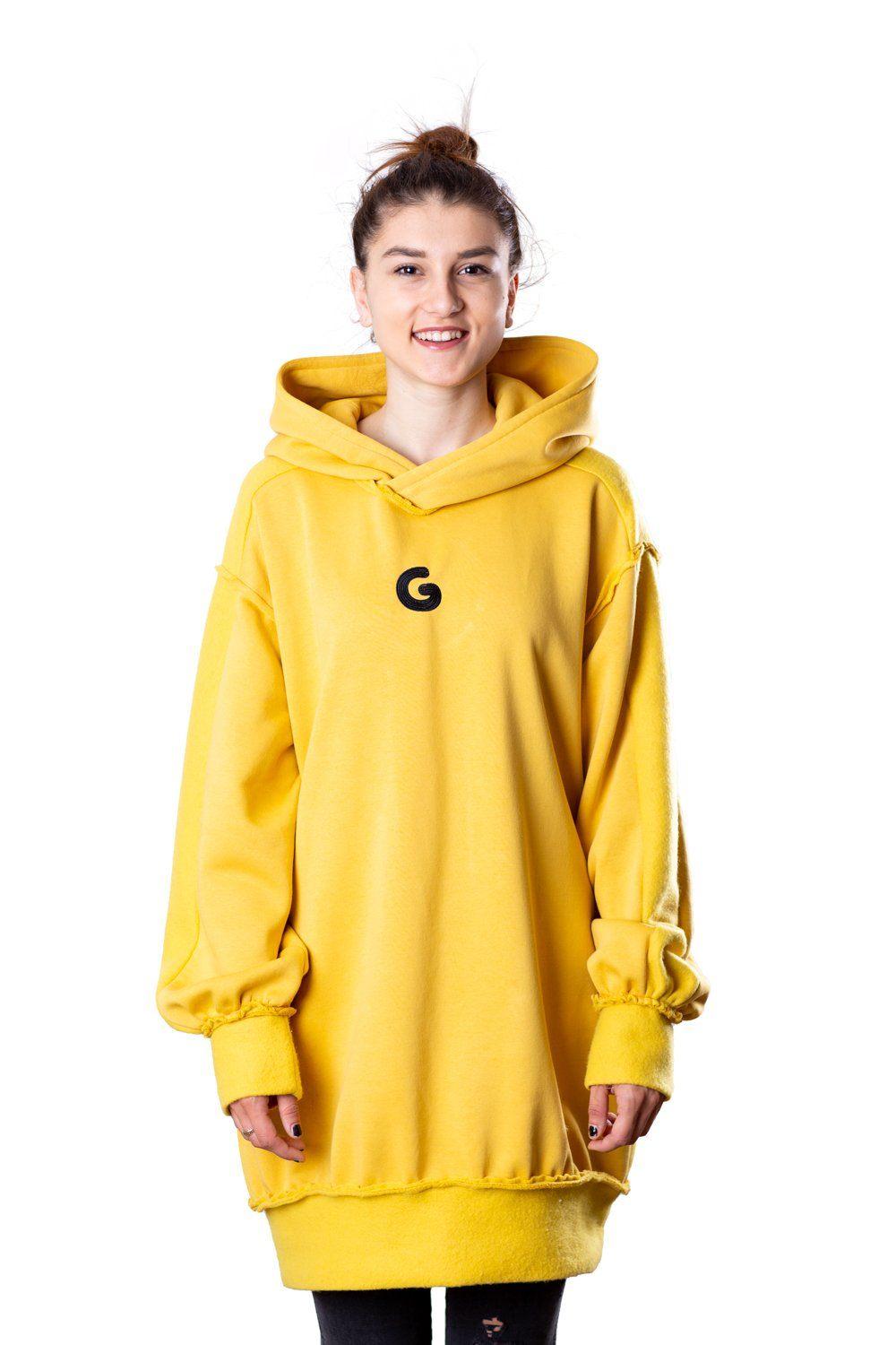 TheG Fresh Oversize Hoody Woman // yellow
