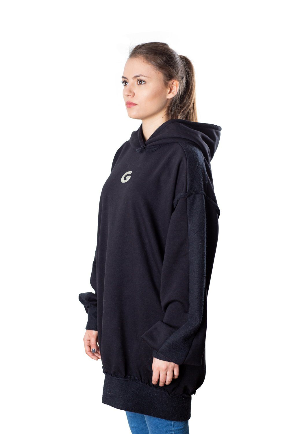 TheG Fresh Oversize Hoody Woman // black